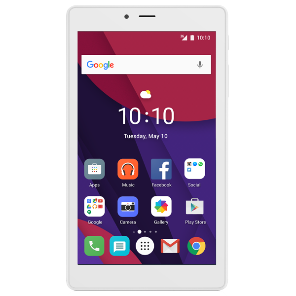 Alcatel Pixi 4 7 inchi white reconditionat