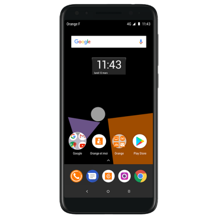 Orange Dive 73 16GB Black