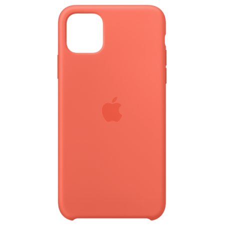 Apple iPhone 11 Pro Max Silicone Case Clementine