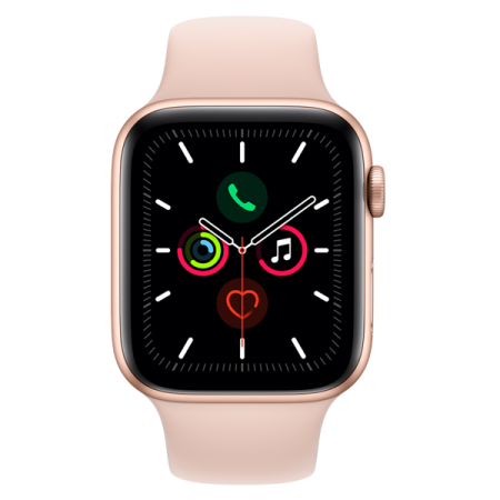 Apple Watch Series 5 GPS 40mm Gold Pink Sand Sport Band