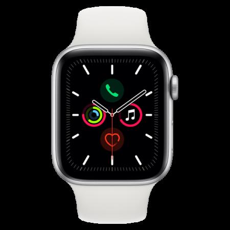 Apple Watch Series 5 eSIM Cellular 4G - 44mm - Silver White SP Band