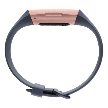 Fitbit Charge 3 Rose Gold - Blue Grey