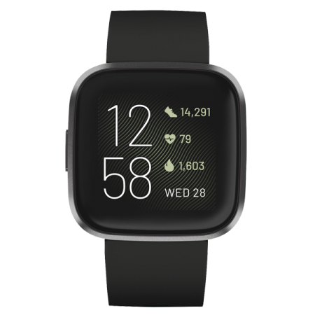 Fitbit Versa 2 Black-Carbon