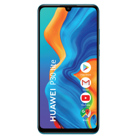 Huawei P30 Lite 128GB DUAL SIM Peacock Blue