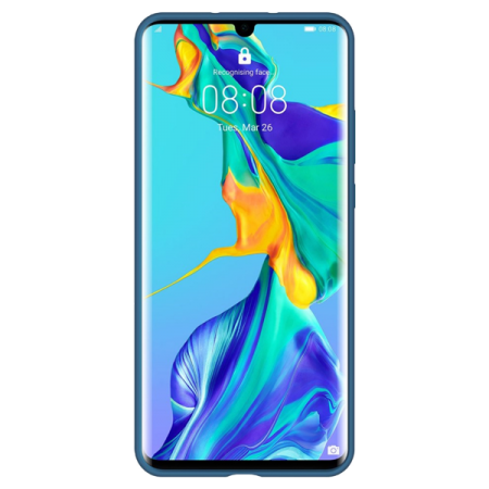 Huawei P30 Pro Silicone Case Blue