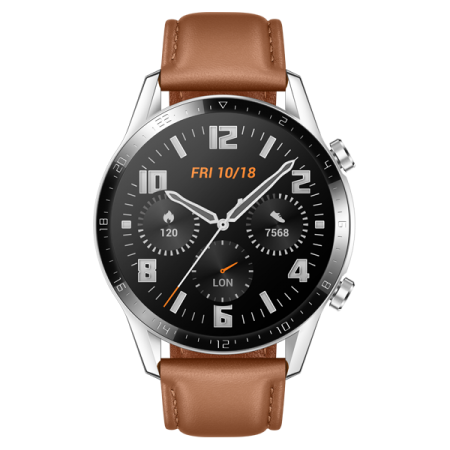 Huawei Watch GT2 46mm Classic Edition Pebble Brown