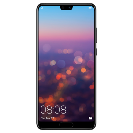 Huawei P20 64GB Dual SIM Black Reconditionat