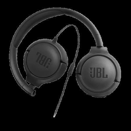 JBL Casti On Ear Tune500 Negre 1 buton remote and mic