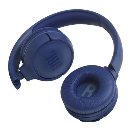 JBL casti wireless on-ear Tune500BT Blue