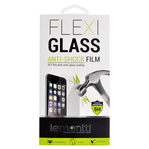 Lemontti Folie Flexi-Glass Huawei P Smart