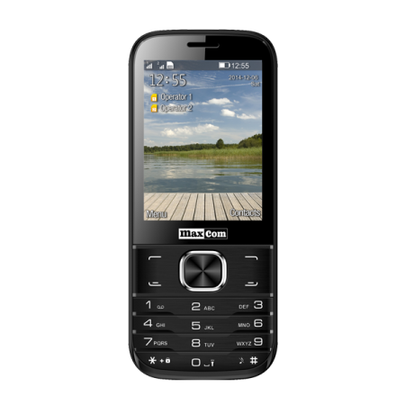 Maxcom MM 237 Dual SIM Black