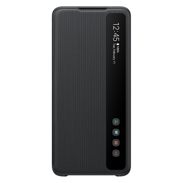 Samsung Clear View Cover S20 Ultra Black