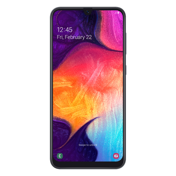 Samsung Galaxy A50 128GB Dual SIM Black Reconditionat