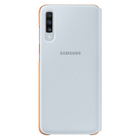 Samsung Wallet Cover White Galaxy A70 2019