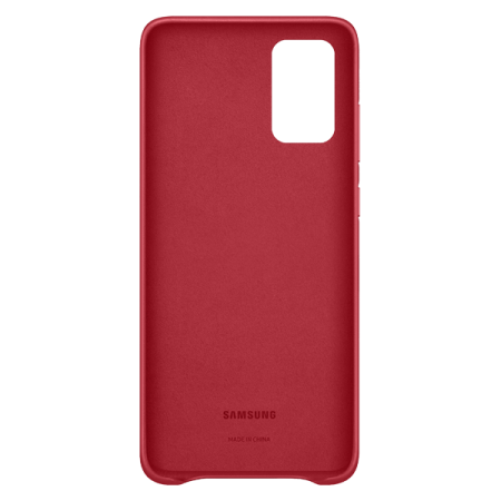 Samsung Leather Cover Galaxy S20 Plus Red