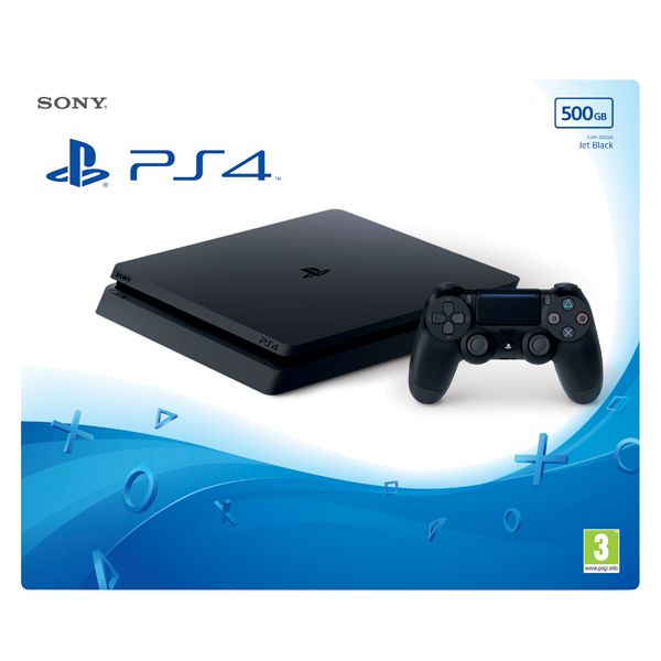 Consola Sony Playstation 4 500GB Black